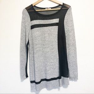 Helmut Lang Static Transfer Pullover Sweater